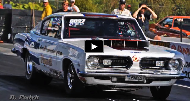 plymouth barracuda super stock drag racing