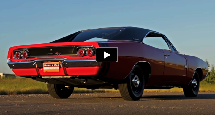 1968 dodge hemi charger r/t 4-speed