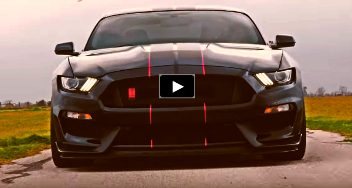 hennessey supercharged shelby gt350r mustang