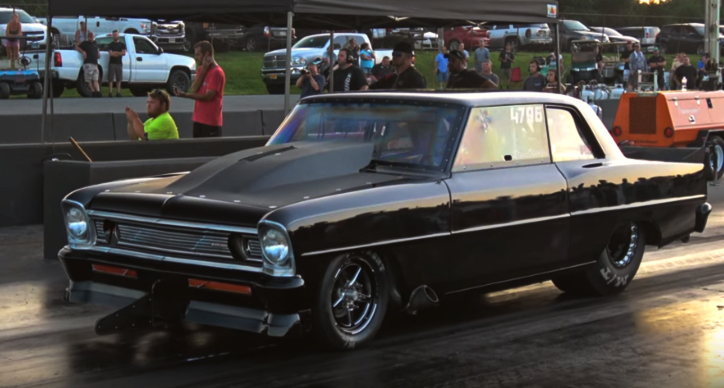 steve woolley 1966 chevy nova drag racing