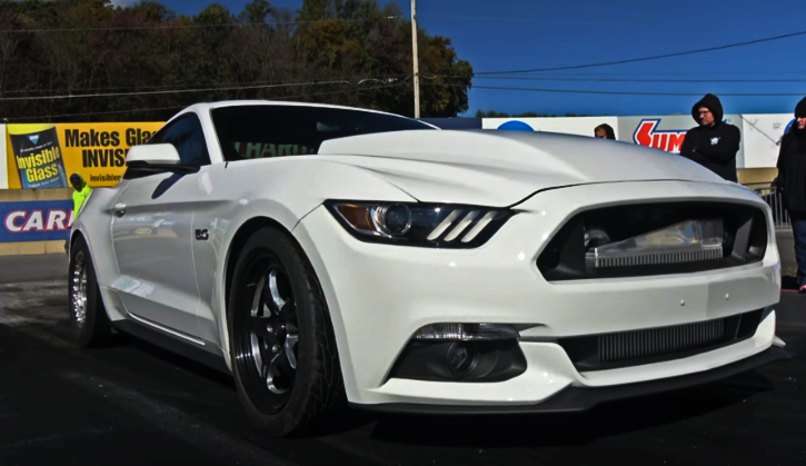 9-second s550 mustang lund racing tuned