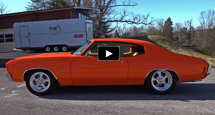 pro touring 1970 chevy chevelle 454