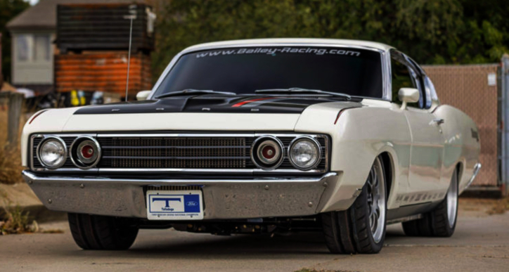 twin turbo coyote 1969 ford torino talladega