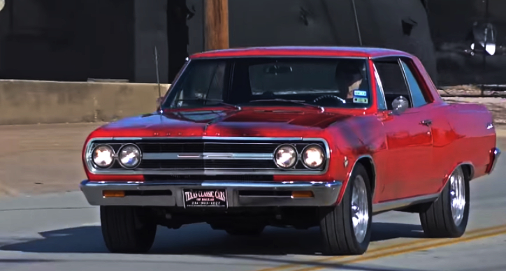 red 1965 chevy chevelle malibu ss 327