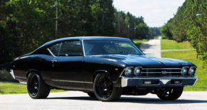 all black 1969 chevy chevelle