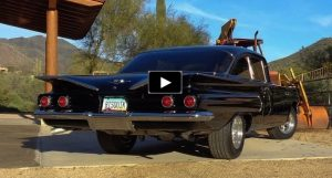 black 1960 chevy biscayne 496 build