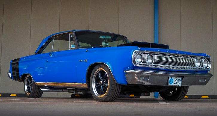 1965 dodge coronet 496 big block