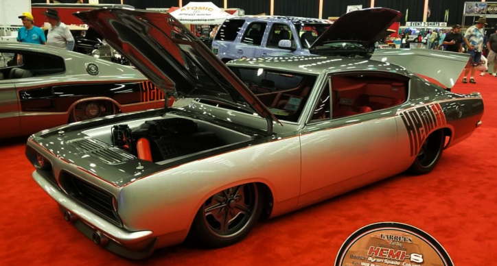 1968 plymouth barracuda custom hemi s