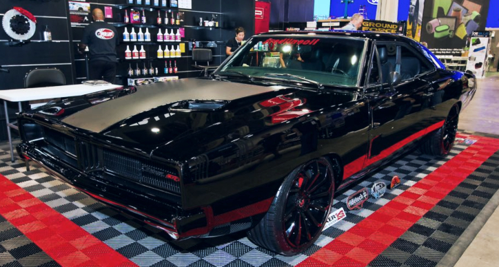 hellcat powered 1969 dodge charger sema