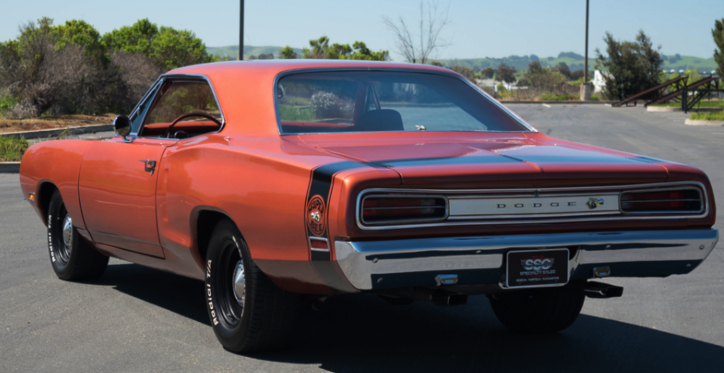 dark burnt orange 1970 dodge coronet super bee