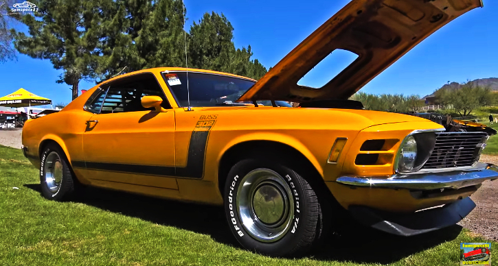 original 1970 mustang boss 302 survivor