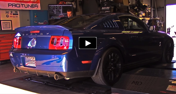 modified 2007 shelby gt500 dyno