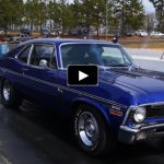 chevy nova ss drag racing