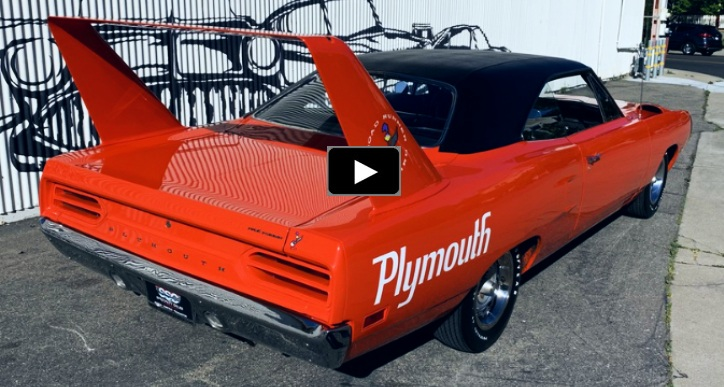 original 1970 plymouth superbird 440