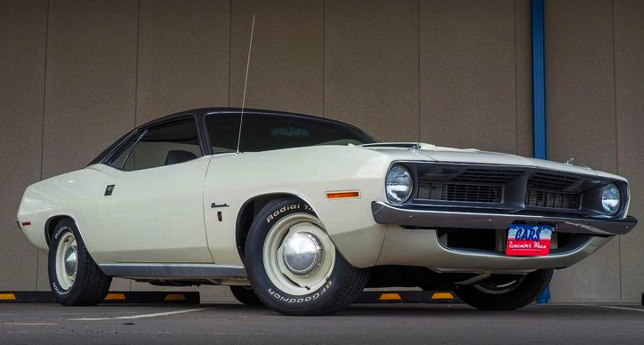 1970 plymouth barracuda 383 4 barrel