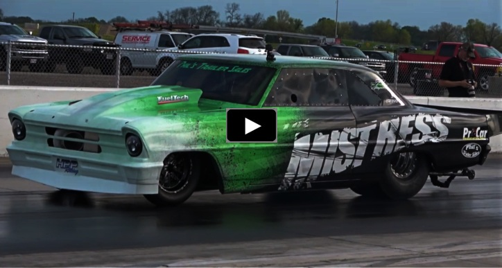 Classic Muscle Cars For Sale >> Shawn Wilhoit's New Mistress Chevy Nova In Action   HOT CARS