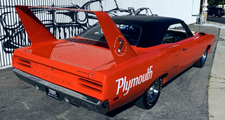 tor red 1970 plymouth superbird