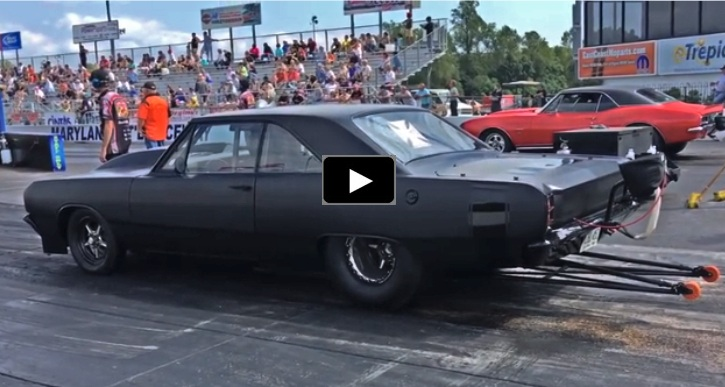 """Race Cars For Sale >> Ron Bookman's 1969 Dodge Dart """"Vader"""" In Action   HOT CARS"""