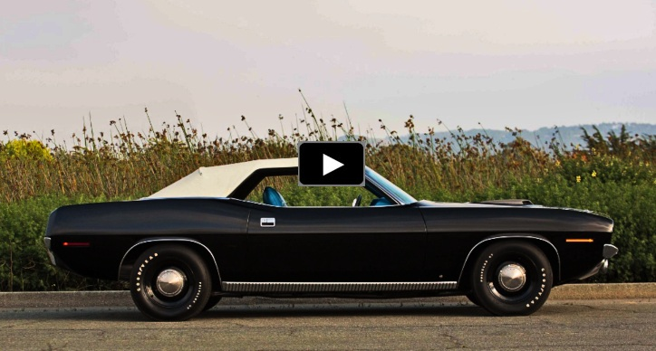 rarest 1970 plymouth cuda convertible 440 six pack