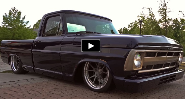 custom 1972 ford f100 short bed truck
