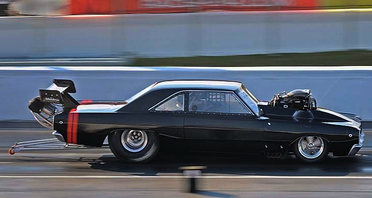 1968 dodge dart promod drag racing
