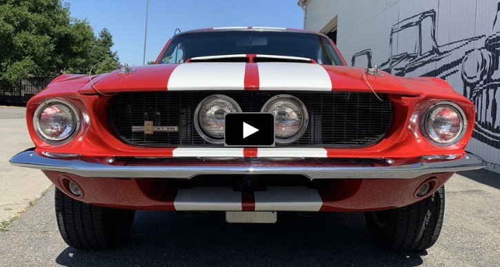1967 ford mustang 289 v8 4-speed