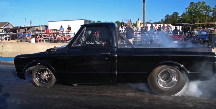 kevin tolliver 1967 chevy c10 truck wars