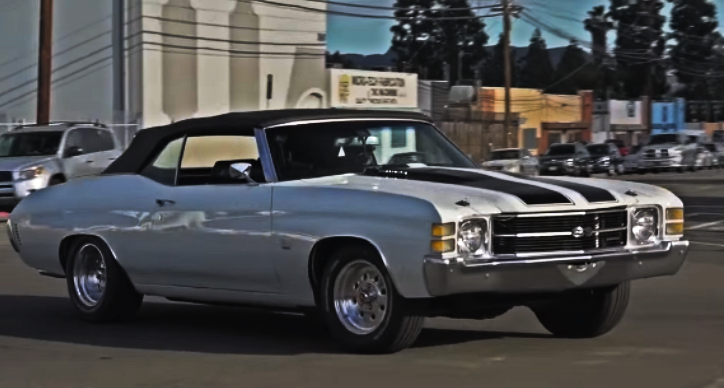 modded 1971 chevy chevelle 454