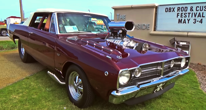 blown pro street dodge hemi dart