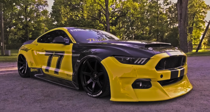 extreme custom ford mustang s550
