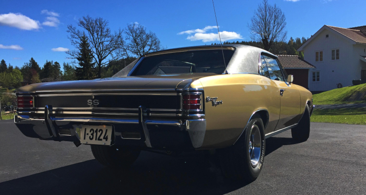 1967 chevy chevelle ss fully restored