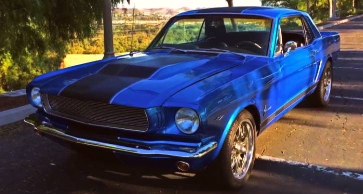 customized 1965 mustang 302 4-speed