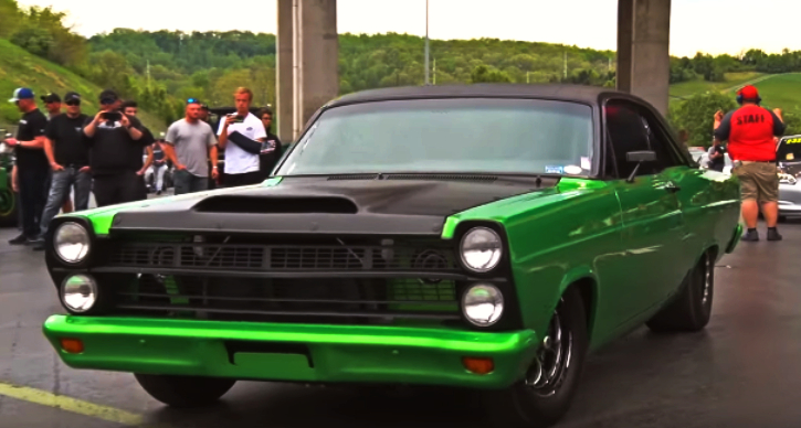 coyote 1967 ford fairlane drrag racing