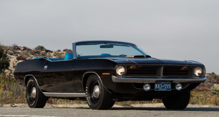 1 of 1 convertible plymouth cuda 440 six pack
