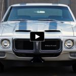 1969 pontiac firebird trans am 400 v8 4-speed