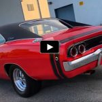 red 1968 dodge charger r/t 440 v8