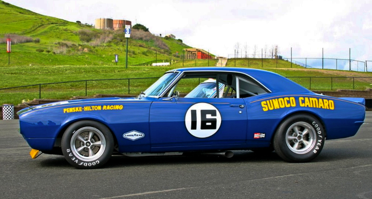 1968 chevrolet sunoco camaro trans am car