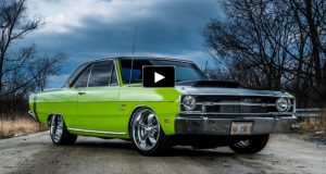 procharged dodge dart 318 v8