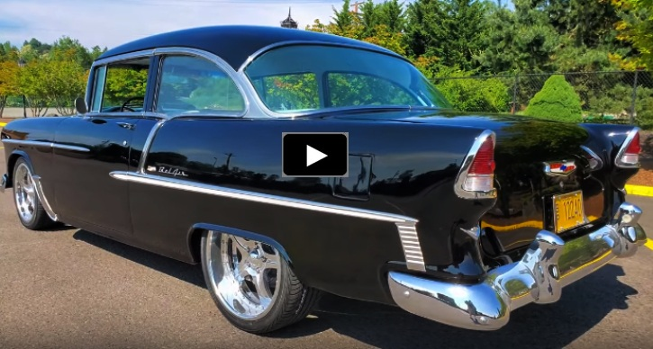 1955 chevy bel air 454 v8 build