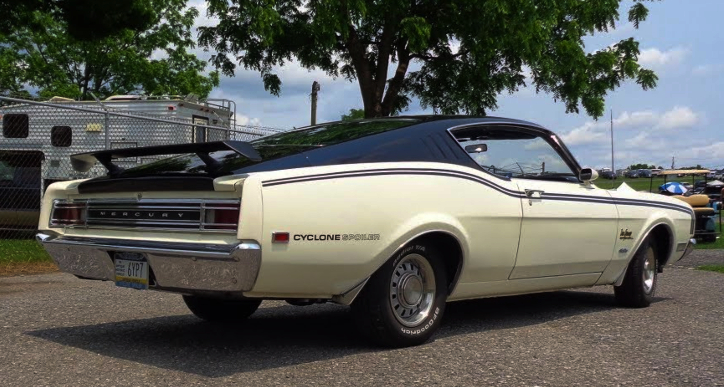 rare 1969 mercury cyclone spoiler 351 windsor
