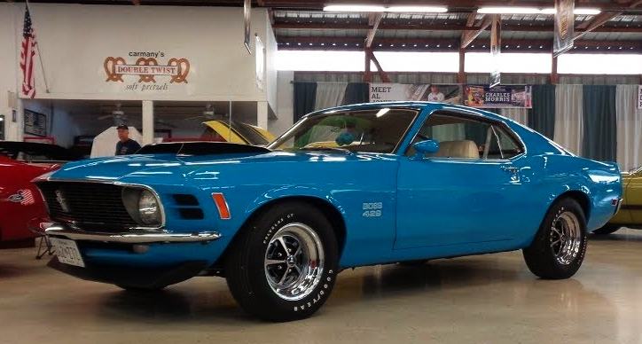 restored 1970 ford mustang boss 429