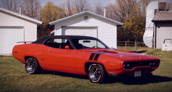 1971 plymouth gtx award winner