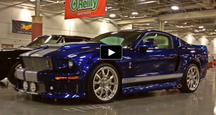 2006 ford mustang shelby gt500kr tribute