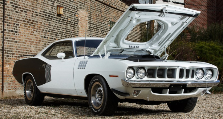 1971 plymouth hemi cuda 4-speed
