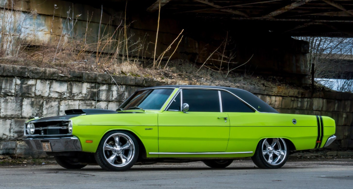 1969 dodge dart 318 build