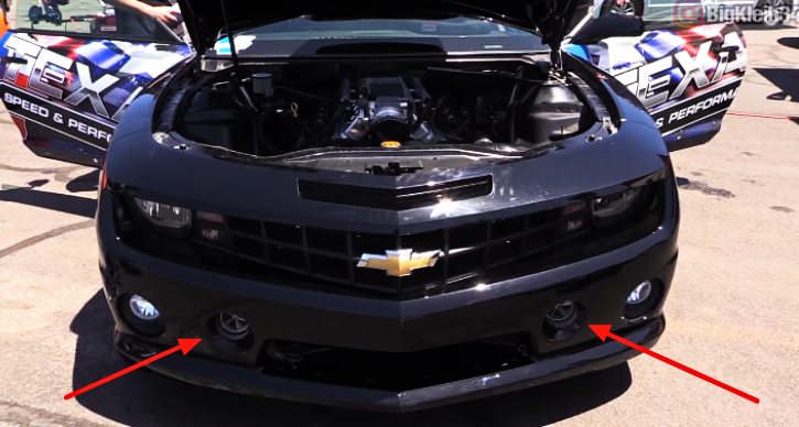 1200hp twin turbocharged camaro holley ls fest