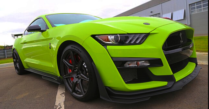 vaughn gittin jr test driving new shelby gt500