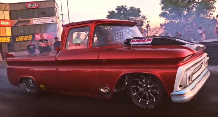 twin turbo small block 1960 chevy c10 truck