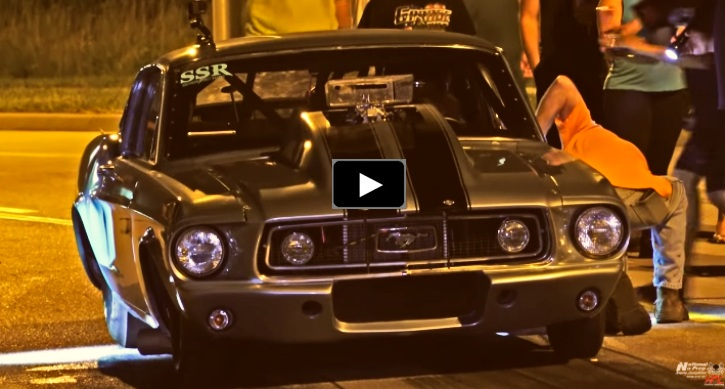small block ford mustang street racing
