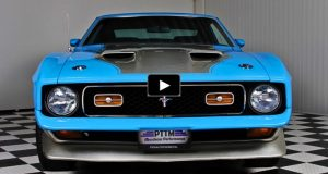 original 1971 mustang mach 1 429 super cobra jet 4-speed